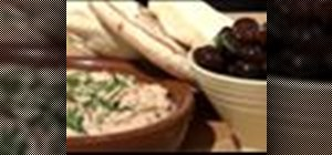 Make taramasalata (fish roe cream salad)