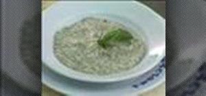Prepare brouillade with eggs, tellines & truffles