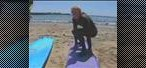 How to Pop up on a surfboard for beginners