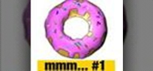 Create a Simpsons doughnut in CINEMA 4D