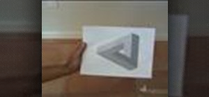 Make a penrose triangle