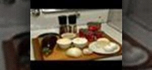 Prepareeggplant Parmesan