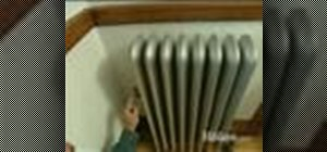 Tune up a steam radiator