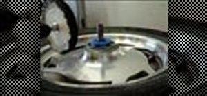 Polish a valkyrie wheel