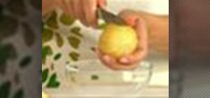 Suprême a citrus
