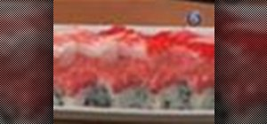 Make box sushi or hako sushi