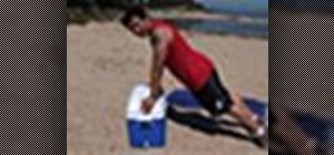 Lift a heavy cooler without hurting your back