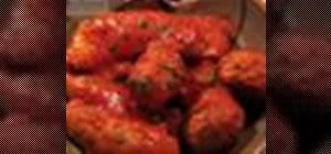 Make Italian sausage, meatball, and tomato sauce gravy