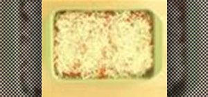 Make spinach lasagna
