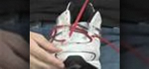 Ease foot pressure by lacing your shoes properly
