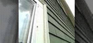 Repair exterior shutters