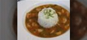 Make a classic creole shrimp etouffee