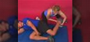 Exercise with the assisted rectus femoris stretch