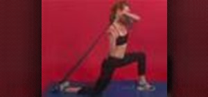 Exercise w/ rectus femoris self stretch w/ yoga strap
