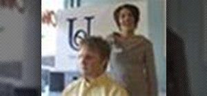 Do a man's clipper haircut