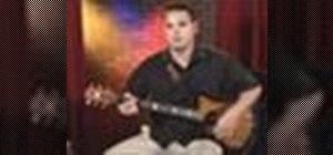 Play rhythm guitar for acoustic rock