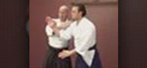 Use the Ryotedori Waza intermediate Aikido technique