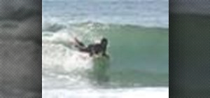 Do a forward spin on a bodyboard