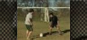 Defend against the dribble in soccer