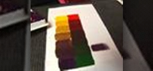 Mix paint colors using color theory
