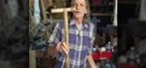 Make a Wood Walking Cane