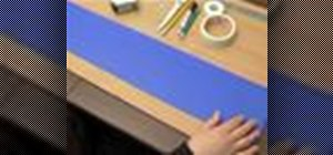 Make a children's height measuring board