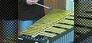 Use damper and sustain pedals on the vibraphone