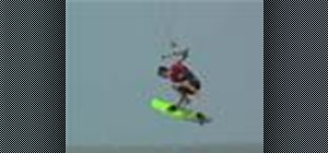 Do a misty flip revert with your kiteboard