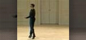 Dance a Baroque pas de bourée, coupé glissé,& ouverte
