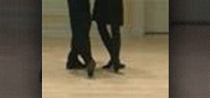 Do a late nineteenth-century Heel-and-Toe Polka dance