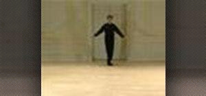 Do a Renaissance cinq pas de la gaillarde dance