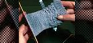Turn a heel when knitting a sock