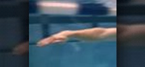 Do hand technique drills to improve swim stroke skills