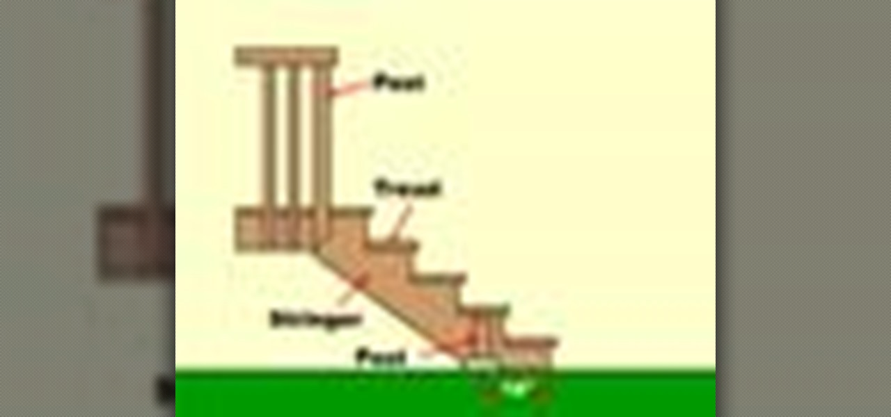 How to install deck stairs construction repair - Things consider installing balcony home ...