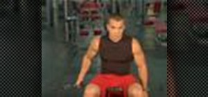 Execute incline bench cable flys