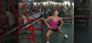 Do weighted diagonal lunges