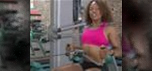Use a rowing machine