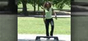 Choreograph a step aerobics routine