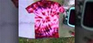 Tie-dye a t-shirt