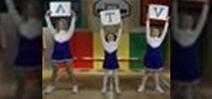 Do the Awesome cheer for cheerleading