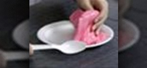 Make sticky, gooey, slippery slime