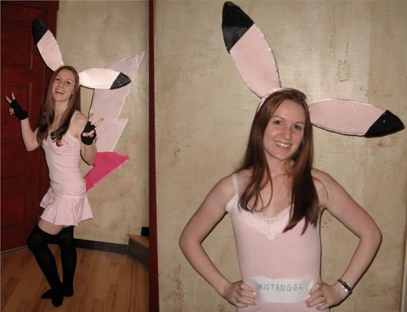 Katie's Pinkachu (Pink Pikachu) Costume and Farmville Costume Contest entry