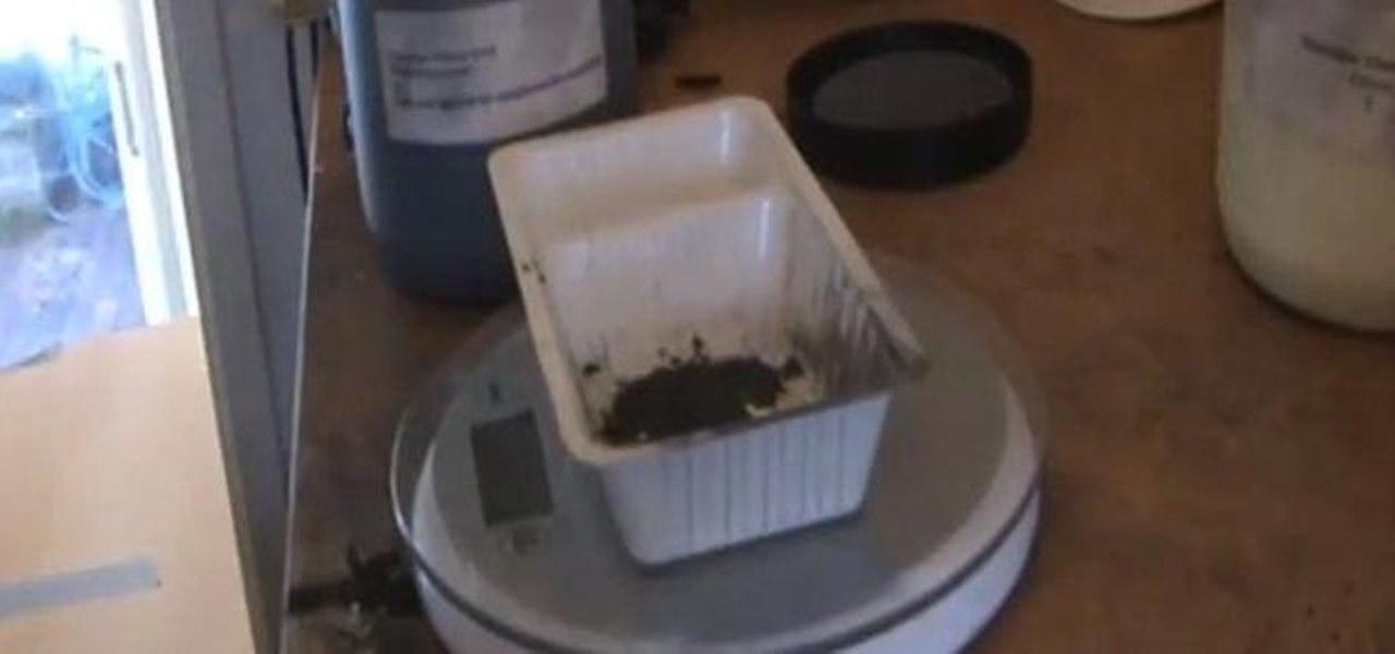Make Stable Flash Powder