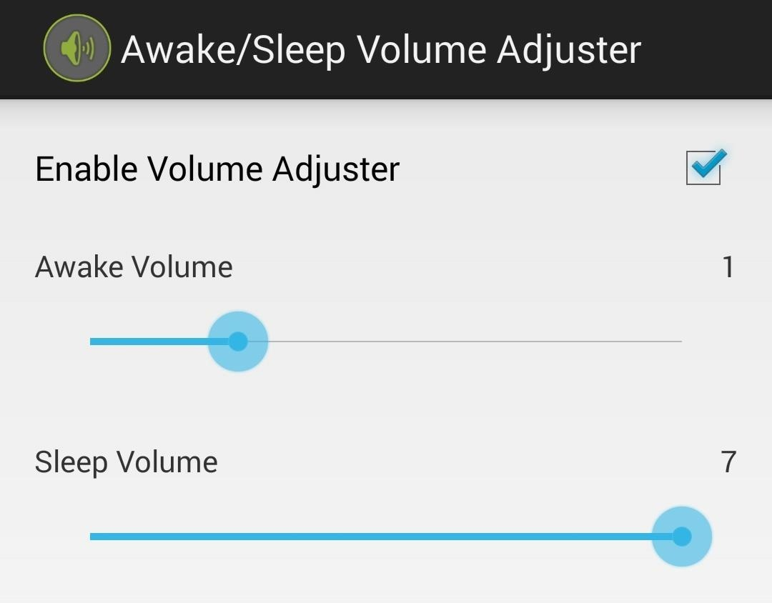 How to Set Separate Sleep/Wake Volumes on Your Samsung Galaxy S4