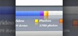 Change bar graph views in iTunes