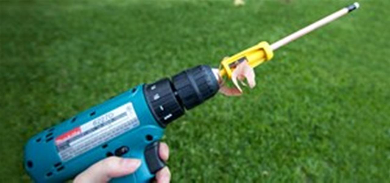 Shortcut Drill Powered Pencil Sharpener Tools Equipment