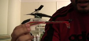 Control tail spin on a PicooZ mini helicopter
