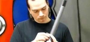 Make a boffer weapon