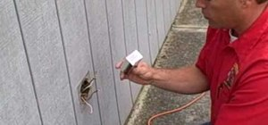 Replace an outdoor electrical plug and cover