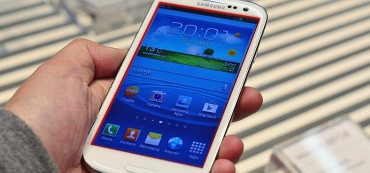 How To Fix The Glowing Red Border On Your Samsung Galaxy S